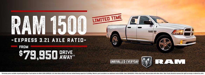 RAM 1500 Express Offer